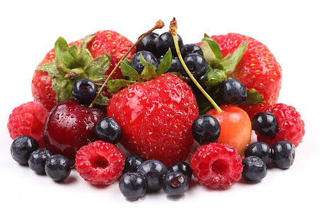 fruit,-strawberries,-blueberries,-cherri