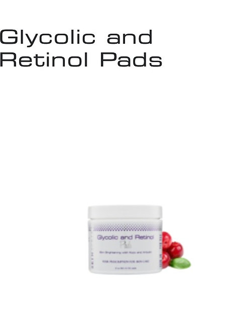 Glycolic and Retinol Pads 2 oz