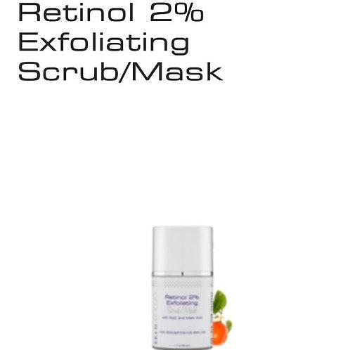 Retinol 2% Exfoliating Scrub 1.7 oz