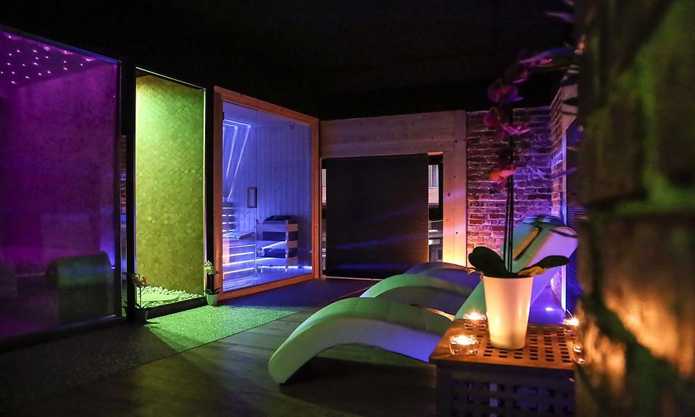 La spa dell'Hotel Angioino