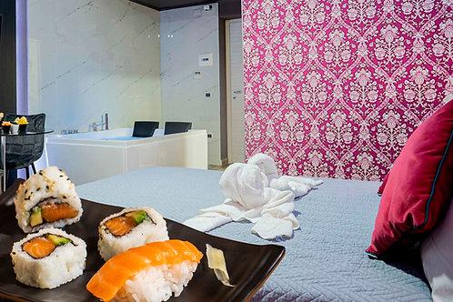 Sushi e relax in suite per 2