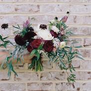 Loose Burgundy Bouquet