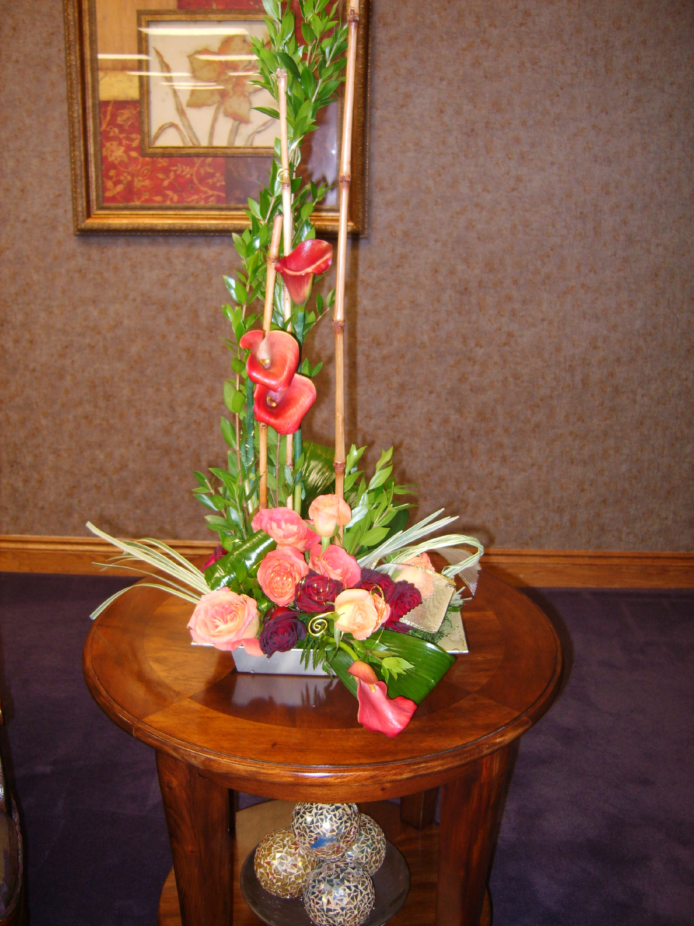 Modern Corporate flower arrangement
