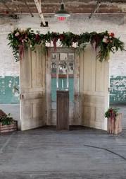 Rustic Doors Ceremony