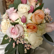 Tulips and Rose Bouquet