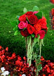 Rose Aisle Decor