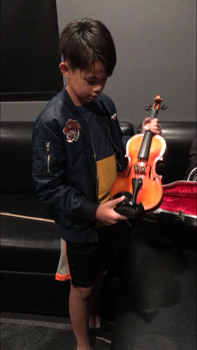 Young Violinist Ryan