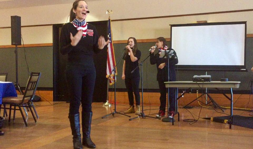 Patiotic Performance For Veterans Day Breakfast