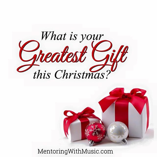 What is your #GreatestGift this #Christmas _