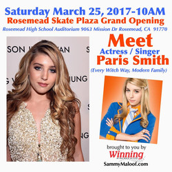 Meet Actress Paris Smith Singing With Us