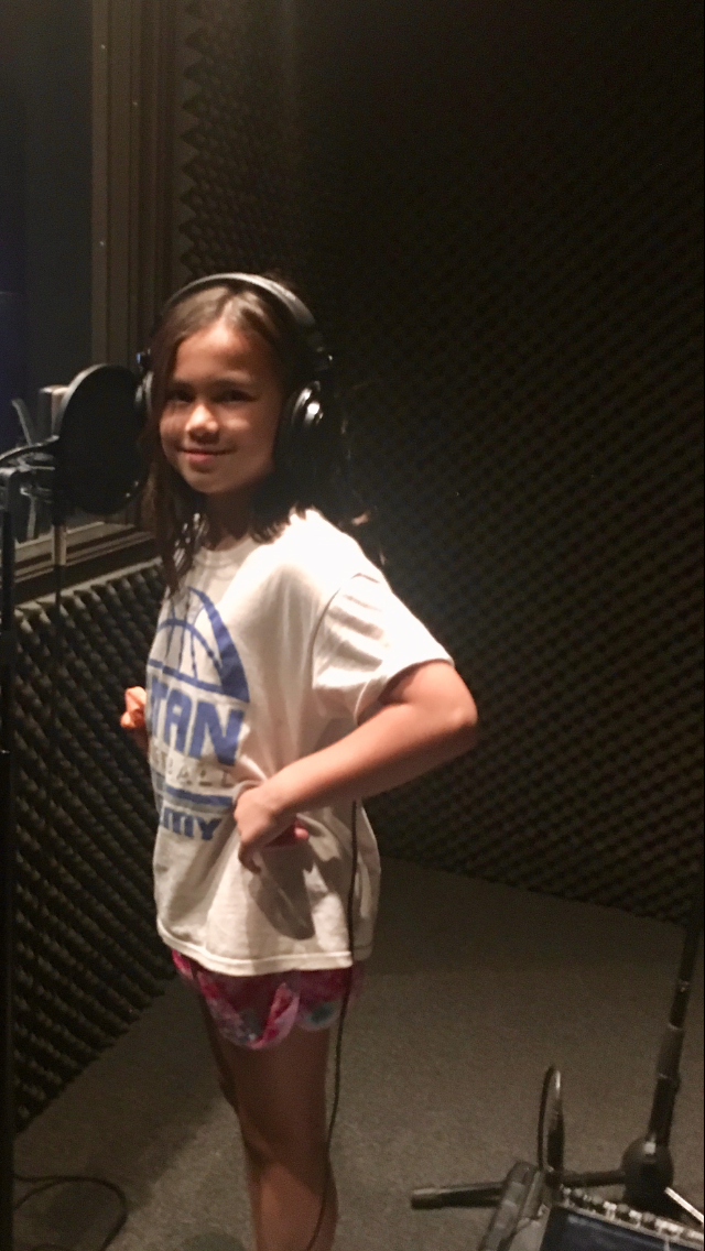 Megan Doing Voiceovers
