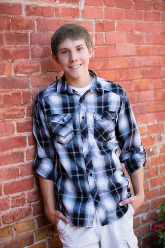 Senior Guy Portraits in Downtown Helena by Crystal Nance Photography