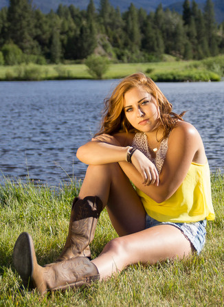 Lakeside Teen Portrait by Crystal Nance Photography in Helena MT