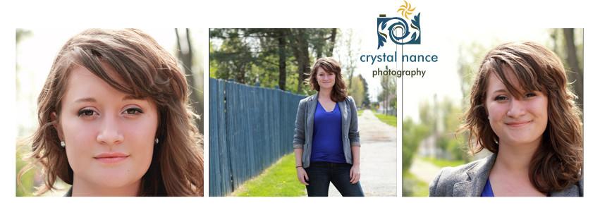 Senior Portrait trio