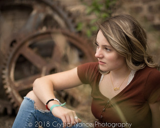 Unique High School Senior Portraits by Crystal Nance Photography in Helena Montana