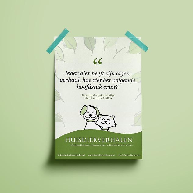 Poster Ontwerp   Huisdierverhalen