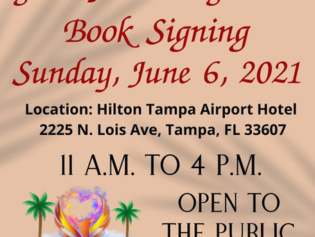 In Tampa June 6th? Stop By!