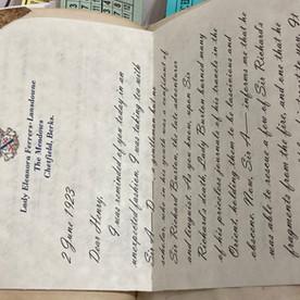 Lady E Letter