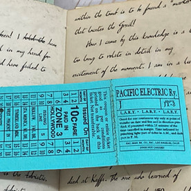 Perforated Celestial ticket