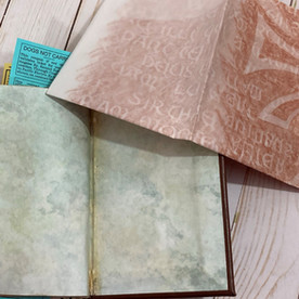 Rubbing and Back of Book