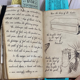 St. Anselm Diary page