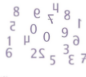 Image of confused numbers