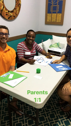One On One Session With Parents