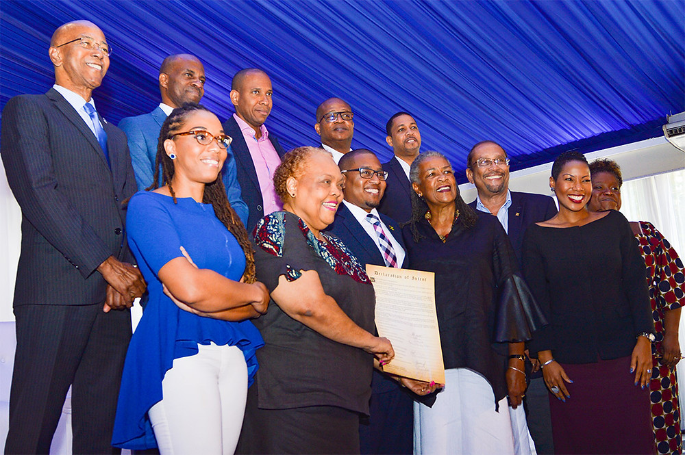 Key Stakeholders Sign the Declaration of Intent at the PSOJ's forum: PSOJ's: forum titled: Time for Growth — Unlocking the Power of the SME