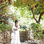 Novia featured on the cover of the US Airways Article on Jamaica