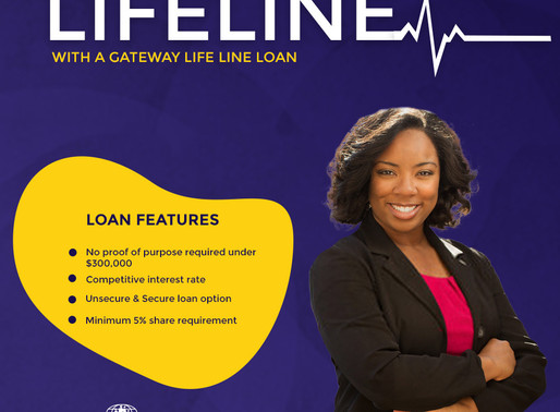New Loan Special: Gateway Life Line Loan