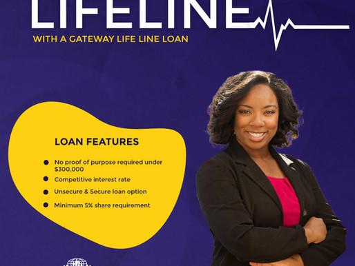 New Loan Special: Gateway Life Line Loan