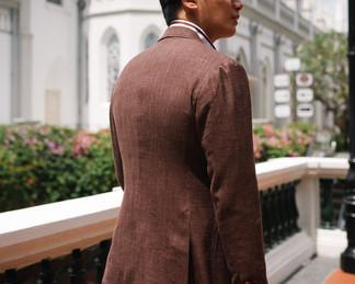Cinnamon Brown Wool Silk Linen Suit 9.jp