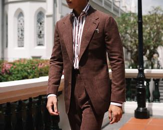 Cinnamon Brown Wool Silk Linen Suit 8.jp