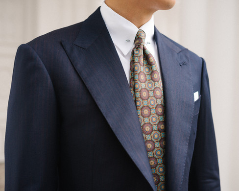 Two Tone Navy Herringbone Suit 8.jpg