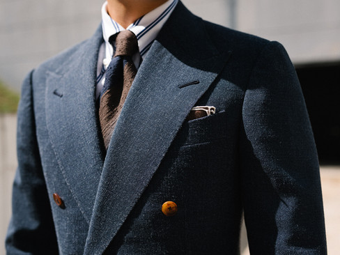 Air Force Blue Double Breasted Suit 8.jp