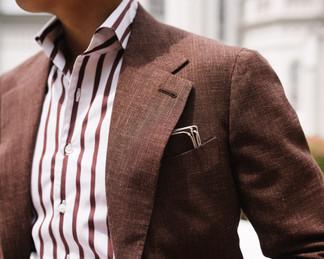 Cinnamon Brown Wool Silk Linen Suit 5.jp