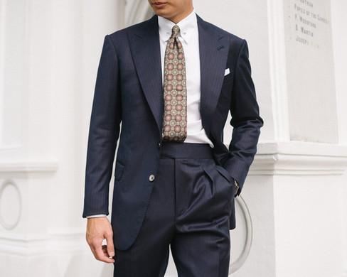Two Tone Navy Herringbone Suit 9.jpg