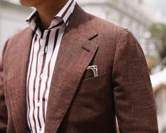Cinnamon Brown Wool Silk Linen Suit 6.jp