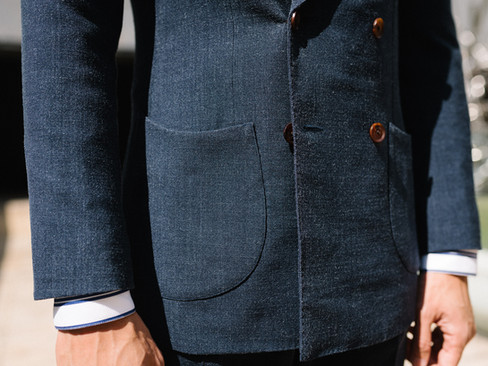 Air Force Blue Double Breasted Suit 9.jp