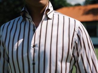 Albini Brown Stripes Shirt 9.jpg