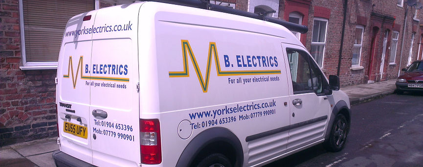 M B Electrics electrician in york