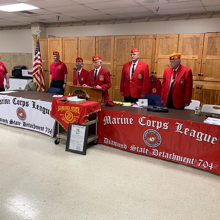 Marine Corps League Det 704 Monthly Meeting