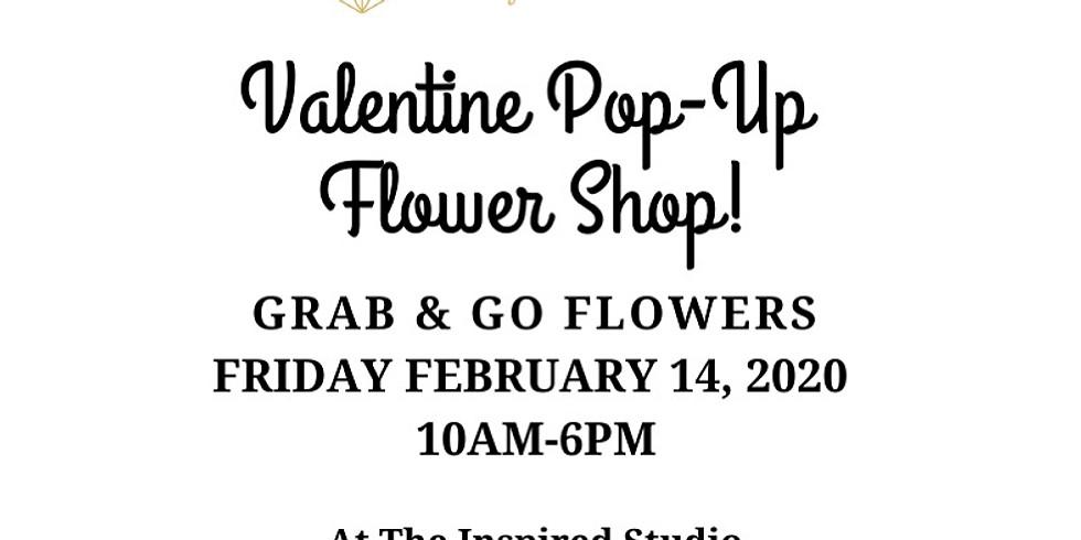 VALENTINES FLOWER POP-UP with Fine Flowers