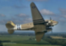 C47 N47SJ Betsy's Bomber over uk.jpg