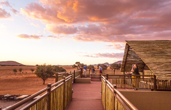 Sundowner Deck - Sossusvlei Lodge
