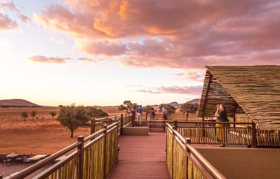 Sundowner Deck - Sossusvlei Lodge