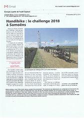 9 Articles de presse VCESQY Handisport.j