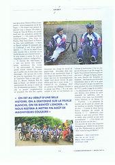 4 Articles de presse VCESQY Handisport.j