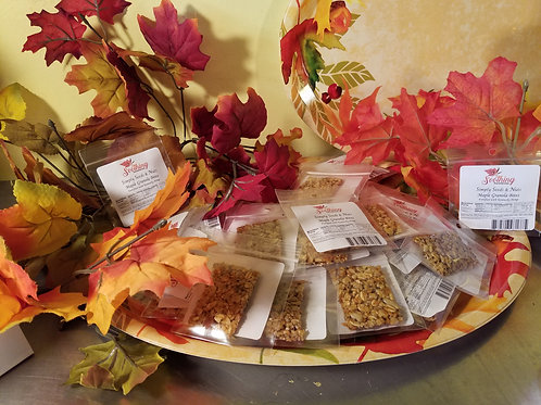 Simply Seeds & Nuts: Maple Granola Bites