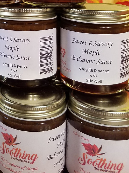 Sweet & Savory Maple Balsamic Sauce